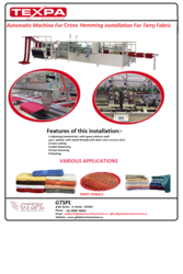 Automatic & semi Automaic Home Textile Machines