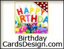 Online Birthday Card design