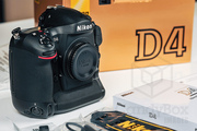 Nikon D4 16.2 MP Digital SLR with AF-S DX Zoom-Nikkor 12-24mm lens