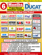 6 month java project training center