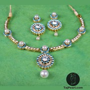 Gold plated Pure Pearl Jewellery online store TajPearl.com
