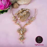 Golden Royal necklaces - online Jewellery store - TajPearl.com