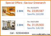 Saviour Greenarch 2/3/4 BHK Super Luxury Residences Noida Extension