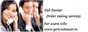 Avail best call center order taking services