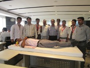 A new record of voluntary blood donation camp at SMS Lucknow