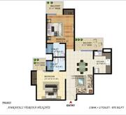 Amrapali Verona heights 2 &3 bhk flats for sale call@ 9555-99-55-44