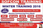 Job oriented winter training 2016 by Sofcon