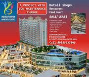 Indirapuram Habitat Centre Retail Shops with lease guarantee 9-13% PA