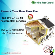 Get 10% discount on Pest Control Services from Godrej Pest Control