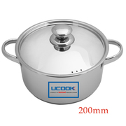 Buy United Ucook Lifetime Stainless Steel Casserole Cookware