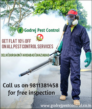 Special Offer-10% OFF on all Pest Control Services Contact Godrej Pest