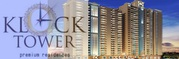 Ajnara Klock Tower 2BHK + 2T (Super area 1075 sq ft)