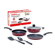 Buy United Non-stick 3 mm heavy gauge Cookware Set