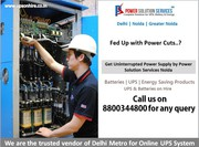 Amaron,  Amararaja and Quanta Battery Dealer in Noida-Contact Power Sol
