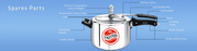 Buy Your Cookware Accessories And Spare Parts By United Pressure cooke