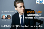 Low Cost Hair Loss Treatment in Noida-At just rupees 15 per Graft