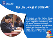 Top Law College In Delhi NCR