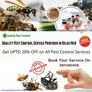 UPTO 20% OFF on all Pest Control Treatments in Noida /NCR 9811381458