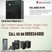 Commercial UPS on Hire/Rent Service -Power Solution Services-880034480
