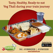 Food Delivery in Lucknow Railway Station and Airport by Fudcheff.