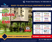 Find Studio Apartments in Noida NCR at Paramount Golfforeste.