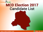 MCD Election 2017 Candidate List