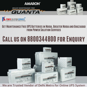Buy Maintenance Free UPS Batteries in Noida,  Greater Noida