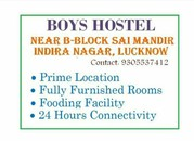 Boys hostel accomadations avilable
