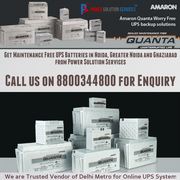 Buy Maintenance Free UPS Batteries from Power Solutions at best price