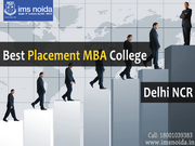 Best Placement MBA College In Delhi NCR