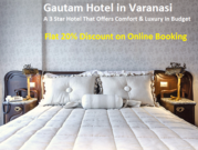 Book Your Luxury Stay in 3 Star Budget Hotels in Varanasi
