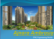 Buy Residential Apartments in Noida Ajnara Ambrosia