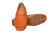 Mens Casual Slip on Leather Shoes