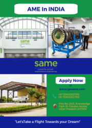 AME in India | Join Aircraft Maintenance Engineering Courses at SAME