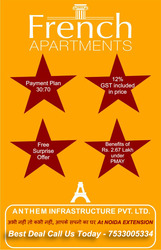 French Apartments - French Flats Noida Extension Buy @ 7533005334