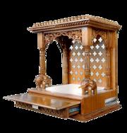 Wooden Temple Mandir By Aarsun Woods