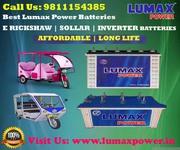 Lumax is Outstanding Inverter Batteries Manufacturer in Noida