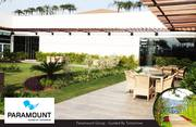Ready to move villas in greater noida at Paramount Golfforeste