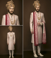 Men's Designer Wedding Sherwani in Noida,  Delhi Ncr and California