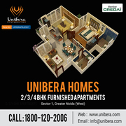 Furnished 2/3 BHK Flats in Noida Extension
