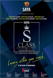 Saya S Class | Flats in Indirapuram For Purchase | 99999 55678