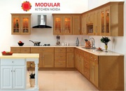 L Shape Modular Kitchen Manufacturers in Noida
