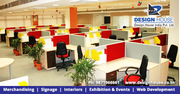 Office Interior Designer Services in Delhi |Ghaziabad | Design House I