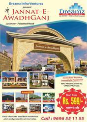 Dreamz Jannat is the Best Property Site on Faizabad Road Lucknow