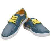 Buy Stacy-1 Green Yellow Casual Shoes for Men Online | Get Extra 11% O