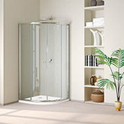 DABBL - Bathroom Shower Screen,  Cubicle,  Enclosures,  Doors