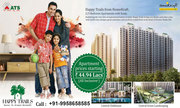 ATS Happy Trails#@ +91-9958658585 #@ 2 BHK Flats in Noida Extension