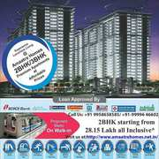 Ready to Move in flats#@ +91-9958658585 #@Amaatra Homes 28.60 Lacs