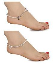 AanyaCentric - Buy Ethnic Traditional Copper Anklet Online