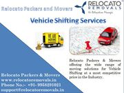 Professional Vehicle Moving Services Provider in Ghaziabad